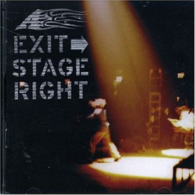 A Exit Stage Right album cover