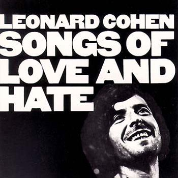Leonard Cohen Songs Of Love And Hate album cover