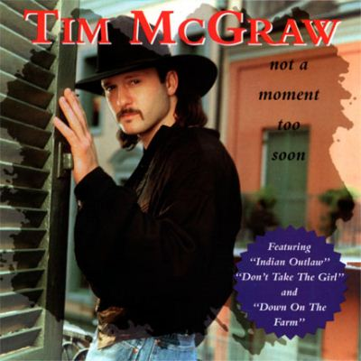 Tim McGraw Not A Moment Too Soon album cover