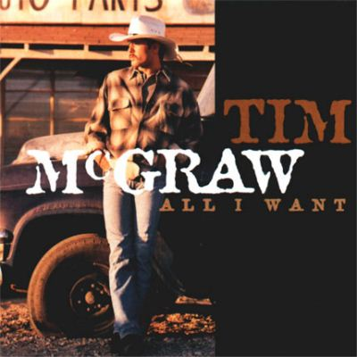 Tim McGraw All I Want album cover