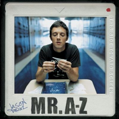 Jason Mraz Mr. A–Z album cover