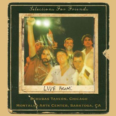 Jason Mraz Selections For Friends - Live From: Schubas Tavern, Chicago, Montalvo Winery, Saratoga California album cover