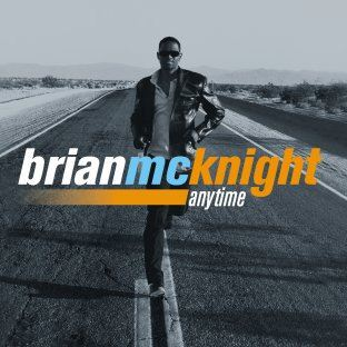 Brian McKnight Anytime album cover