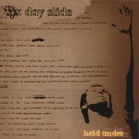 Six Day Slide Held Under EP album cover