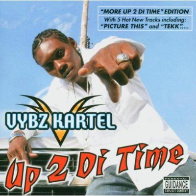 Vybz Kartel Up 2 Di Time album cover