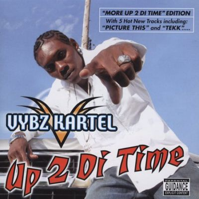 Vybz Kartel More Up 2 Di Time album cover