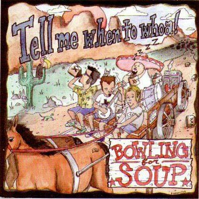 Bowling For Soup Tell Me When To Whoa EP album cover
