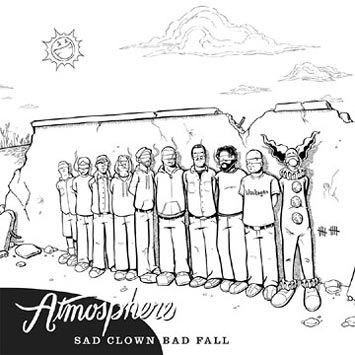 Atmosphere Sad Clown Bad Fall 10 EP album cover