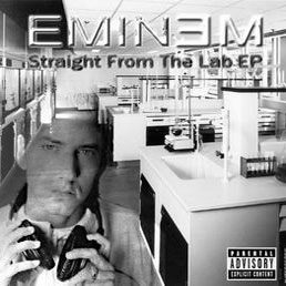 Eminem Straight From The Lab EP album cover