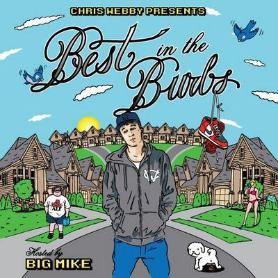Chris Webby Best In The Burbs Mixtape album cover