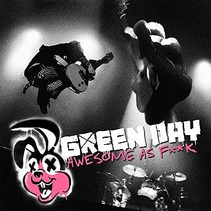 Green Day Awesome As Fuck album cover