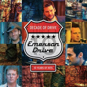 Emerson Drive Decade Of Drive album cover