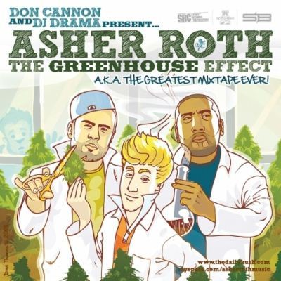 Asher Roth The GreenHouse Effect Mixtape album cover