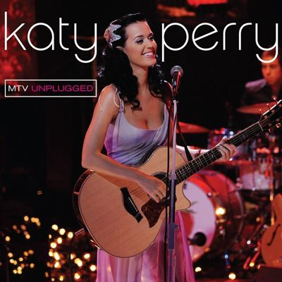 Katy Perry MTV Unplugged album cover