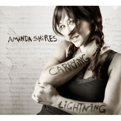 Amanda Shires Carrying Lightning album cover
