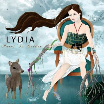 Lydia Paint It Golden album cover