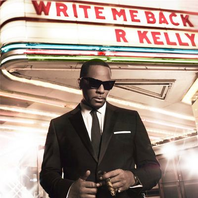 R. Kelly Write Me Back album cover