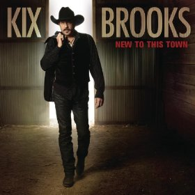 Kix Brooks New To This Town album cover