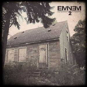 Eminem The Marshall Mathers LP 2 album cover