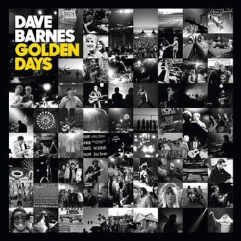 Dave Barnes Golden Days album cover