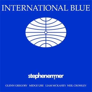 Stephen Emmer International Blue album cover